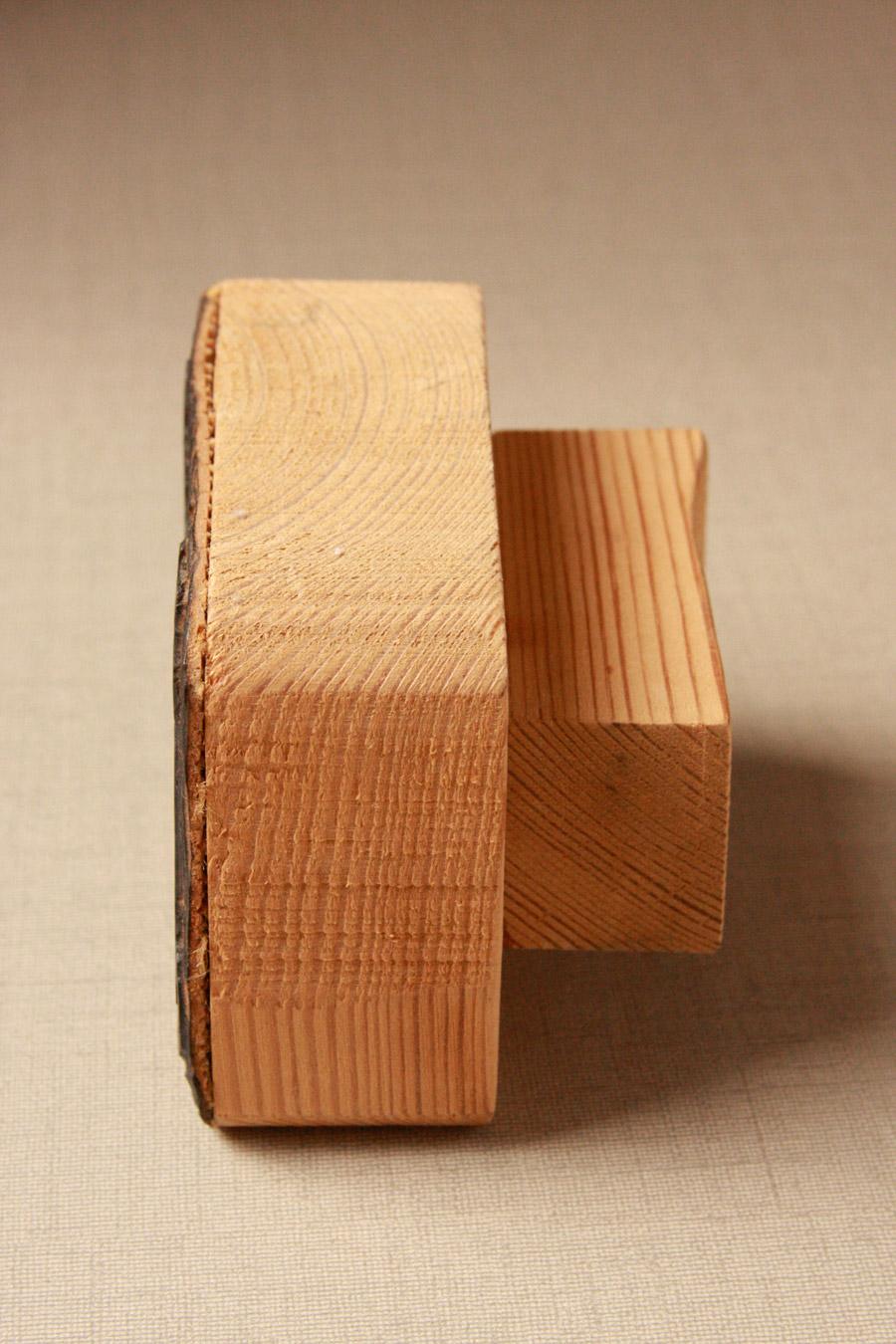 חותמת אישית עשויה עץ