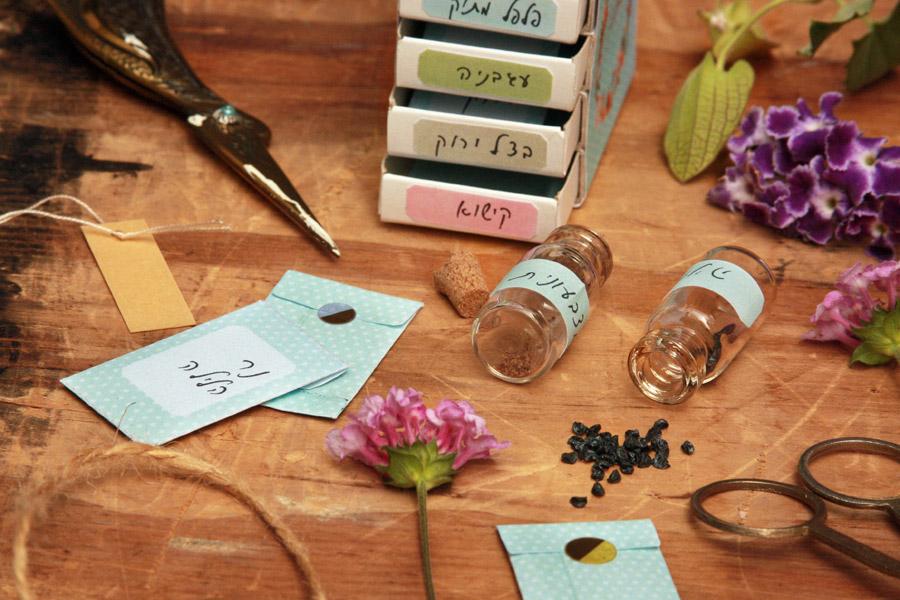מתנה לאורחים בליל הסדר או חתונה