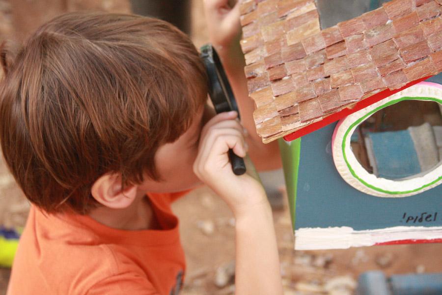 טיול עם ילדים: האחו הפורח