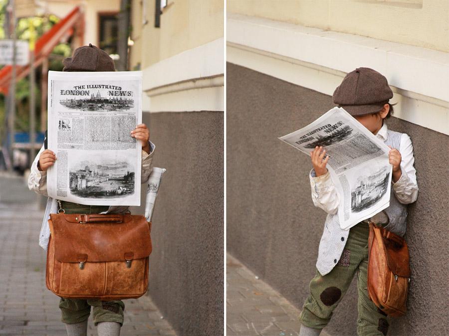 תחפושת מוכר עיתונים | בלוג סימני דרך | naamasimanim.co.il