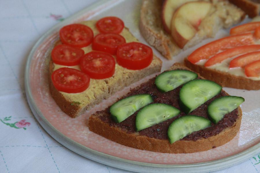 איך לגרום לילדים לאכול מגוון | מסיבת סנדוויצ׳ים | סנדוויץ׳ לבית ספר | מגש סנדוויצ׳ים