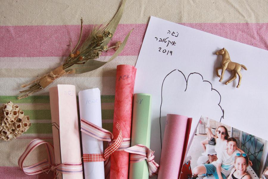 קפסולת זמן משפחתית | פעילות משפחתית לחג | פעילות משפחתית לתחילת שנה | בלוג ״סימני דרך״ | naamasimanim.co.il