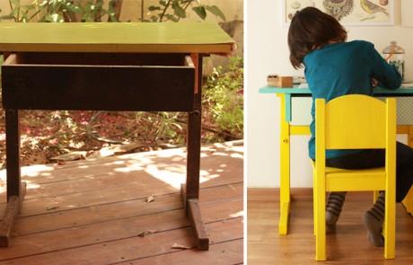 סיפורו של שולחן בית ספר