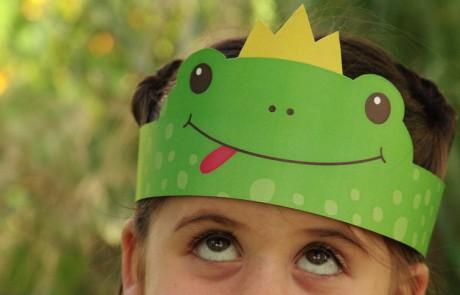 מכת צפרדעים: יצירה לילדים לפסח