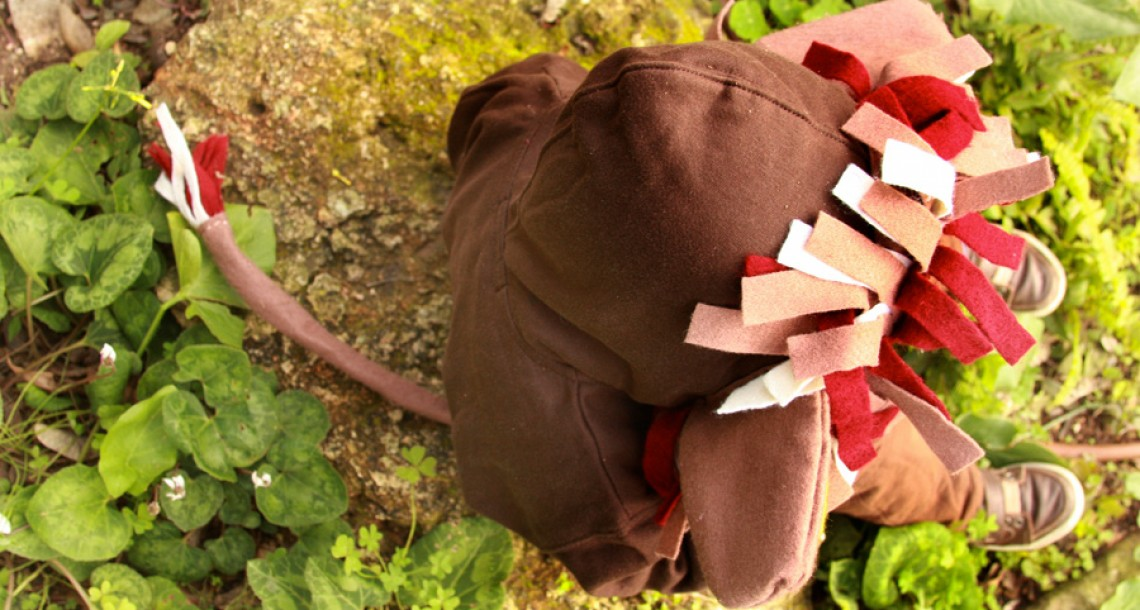 המרוץ לתחפושת: האריה שאהב תות